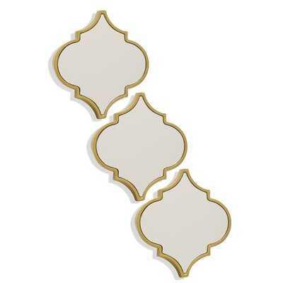 3 Piece Poulos Mirror Set - Wayfair
