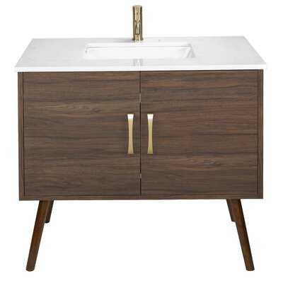 "Emily 37"" Bathroom Vanity Set - AllModern"