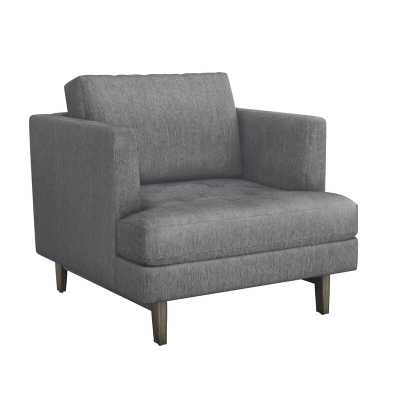 Interlude Ayler Lounge Chair Upholstery Color: Night - Perigold