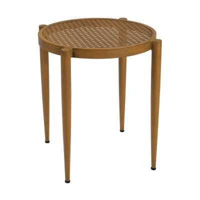 Woodard Parc  Side Table Frame Color: Pewter Finish - Perigold