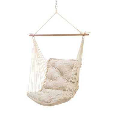 Wilcoxen Tufted Single Sunbrella Chair Hammock - AllModern