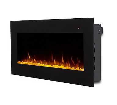 """Corretto Electric Fireplace, 40"""" - Pottery Barn"""