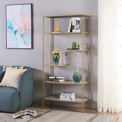 Delcastillo 5-Tier Etagere Bookcase - Wayfair