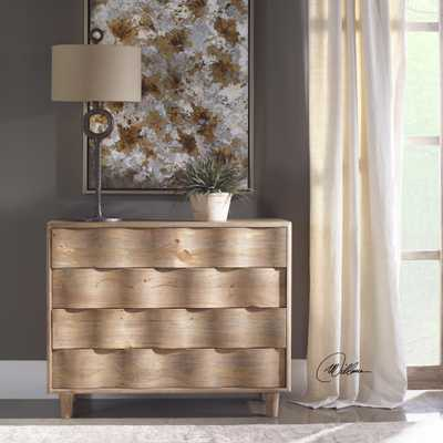Crawford Light Oak Accent Chest - Hudsonhill Foundry