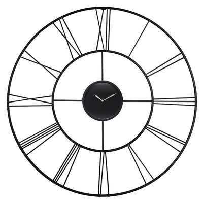 "Oversized Cherea 45"" Wall Clock - Wayfair"