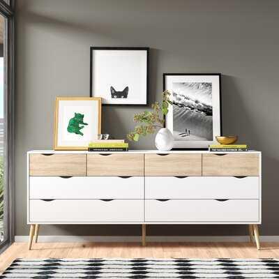 Dowler 8 Drawer Double Dresser - AllModern