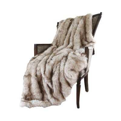 Demartino Faux Fur Throw - AllModern