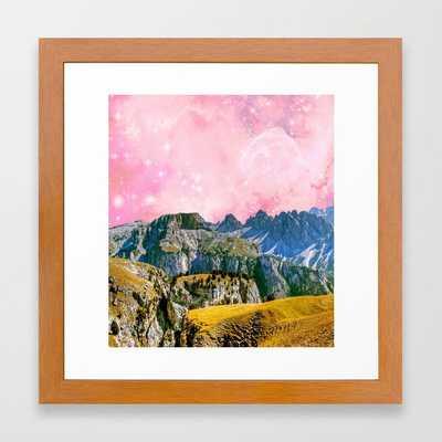 Small World #society6 #decor #buyart Framed Art Print by 83 Orangesa(r) Art Shop - Conservation Pecan - X-Small-12x12 - Society6