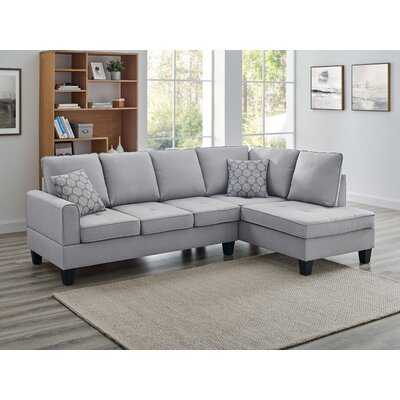 "Afanasii 98"" Wide Stationary Sofa & Chaise - Wayfair"