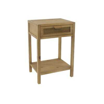 Kannon 1 Drawer Nightstand - Wayfair