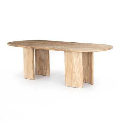 "Gold Guanacaste Dining Table, 98"" - West Elm"