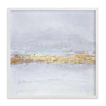 New Horizons, Full Bleed 16x16, White Wood Frame - West Elm
