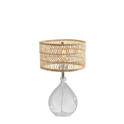 Adesso Cuba Teardrop Table Lamp - Home Depot
