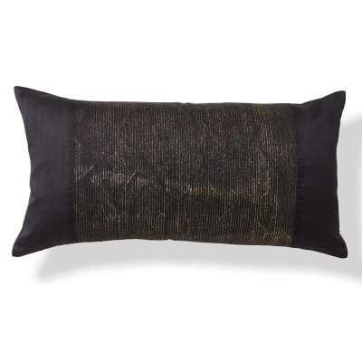 Donna Karan Black Onyx Lumbar Pillow - Perigold
