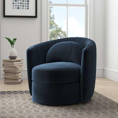 "Annalise Swivel 23.62"" Barrel Chair - AllModern"