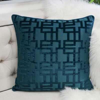 Bulluck Square Pillow Cover and Insert - Wayfair