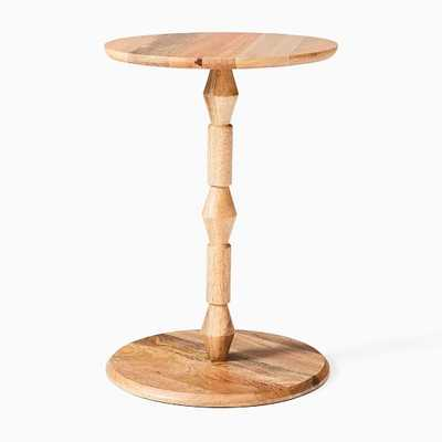 Chase Raw Mango Wood Side Table - West Elm