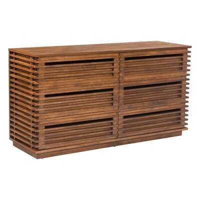 Glidden 6 Drawer Double Dresser - AllModern