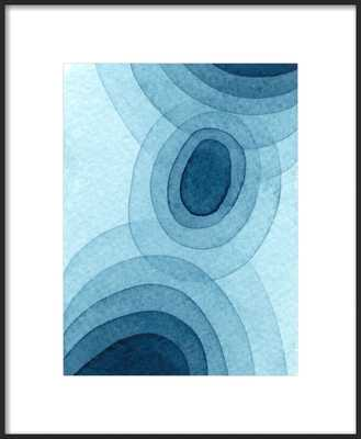 Blue One by Nikki Galapon for Artfully Walls - Artfully Walls