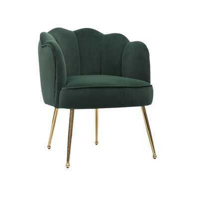 Oldham Scalloped Barrel Chair - Wayfair