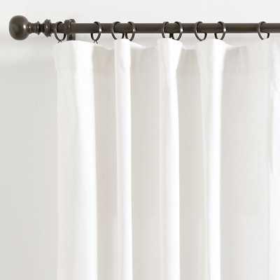 """Essentials Basic Panel Quilted White 108"""" - Ballard Designs - Ballard Designs"""