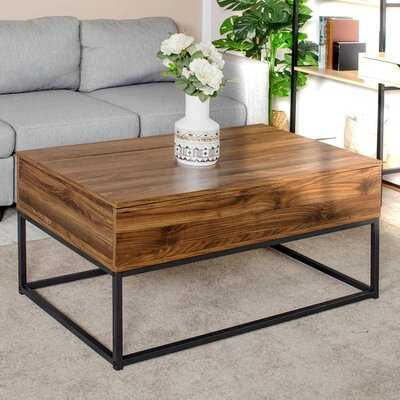Toller Lift Top Frame Coffee Table with Storage - Wayfair