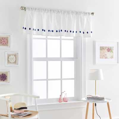 Tufted Dot Valance Navy - CHF Industries, Blue - Target