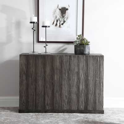 Latham Reclaimed Wood Console Table - Hudsonhill Foundry