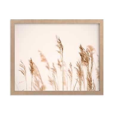 Summer Weeds Framed Art by Minted(R), Natural, 8x10 - Pottery Barn Teen