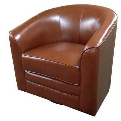 Euben Swivel Barrel Chair - Birch Lane