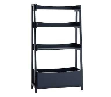 Angled Bookcase, Navy, In-Home Delivery - Pottery Barn Kids