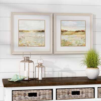 Sunset - 2 Piece Picture Frame Print Set on Paper - Wayfair