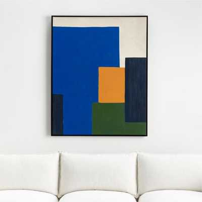 Modern Cool Painting - Crate and Barrel