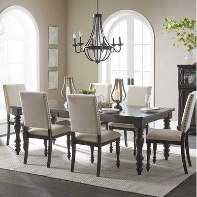 Yarger 7 Piece Extendable Dining Set - Wayfair