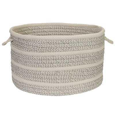 Banded Mix Fabric Basket - Wayfair
