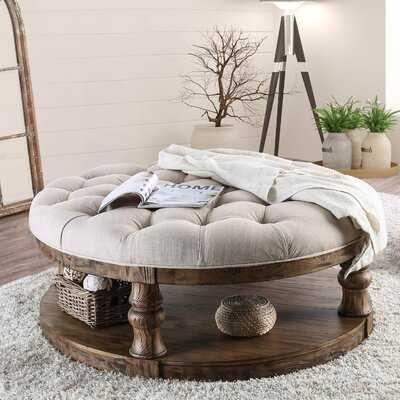 Anner Floor Shelf Coffee Table with Storage - Birch Lane