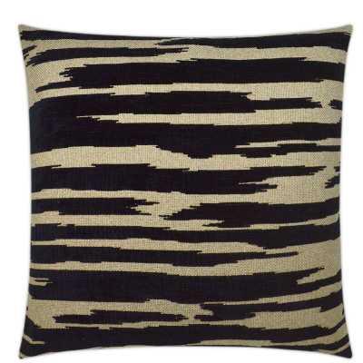 D.V. Kap Abstract Throw Pillow Color: Black - Perigold