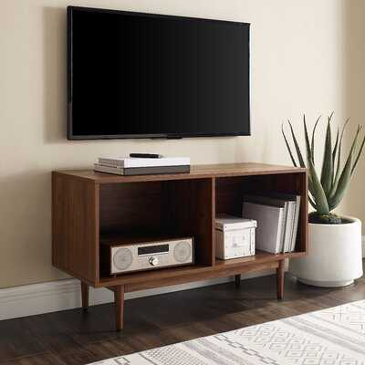 """Sinclaire Record Storage 40"""" Console Table - Wayfair"""