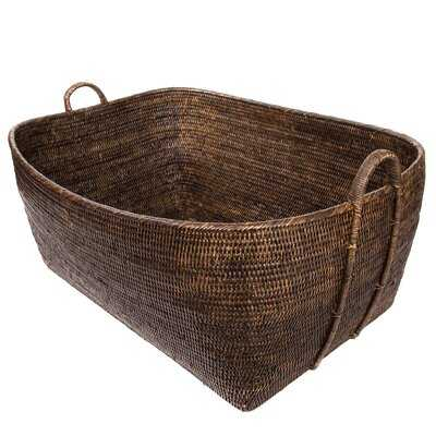 Albin Rattan Basket - Birch Lane