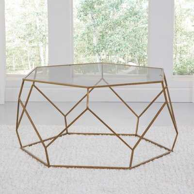 Halloway Drum Coffee Table - Wayfair