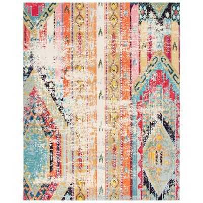 Wooler Multicolor Area Rug - Wayfair