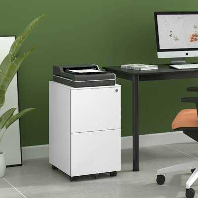 Taub Steel 2-Drawer Mobile Vertical Filing Cabinet - Wayfair