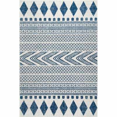 Jerrell Blue Area Rug - Wayfair