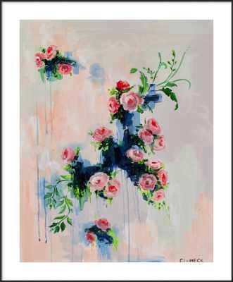 Full Bloom by Alana Clumeck for Artfully Walls - Artfully Walls