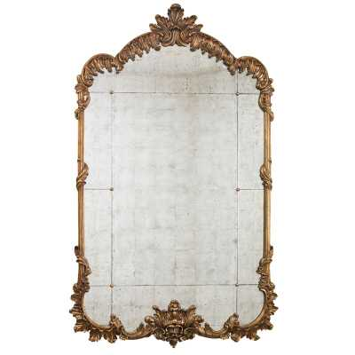 Lillian August Hyde Traditional Accent Mirror - Perigold