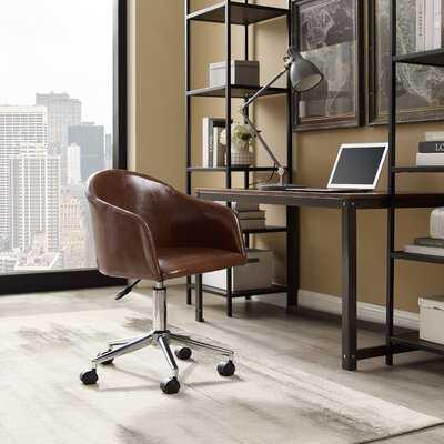 Curve Back Home Office Chair - Wayfair