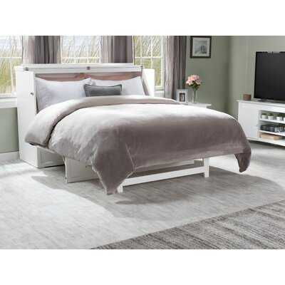 Kimsey Queen Storage Murphy Bed with Mattress - Wayfair