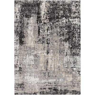 Black/Gray Rug - Wayfair