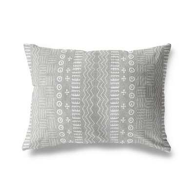 Adeline Modern Geometric Lumbar Pillow - Wayfair