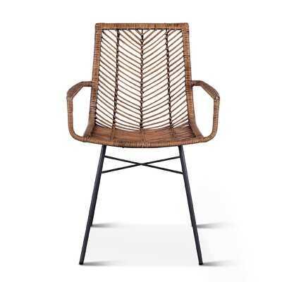 Davonte Arm Chair (Set of 2) - Wayfair